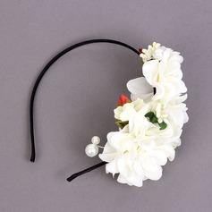 Bright Fabric Headdress Flower