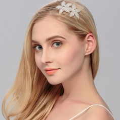 Flower Shaped Rhinestone Tiaras