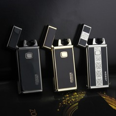Elegant Stainless Steel Electronic Lighter