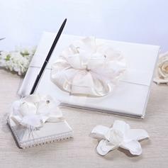 Elegant Gästebuch & Schreibset