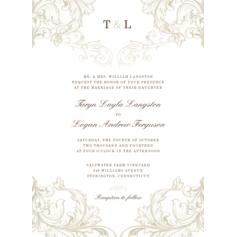 Tender Surroundings Wedding Cards