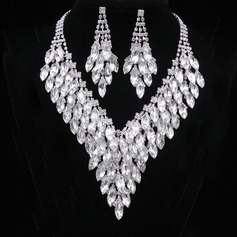 Beautiful Alloy/Rhinestones Women's/Ladies' Jewelry Sets