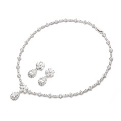 Charming Zircon Ladies' Jewelry Sets