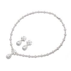 Charme Zircon Senhoras Conjuntos de jóias