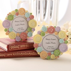 Button design Resin Place Card Holders/Photo Frames