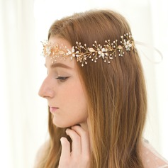 Elegant Rhinestone/Freshwater Pearl Forehead Jewelry/Headbands