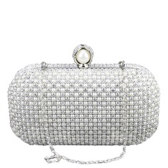 Gorgeous Metal/Pearl With Rhinestone Clutches