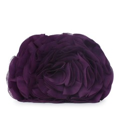 Gorgeous Chiffon With Flower/Ruffles Clutches