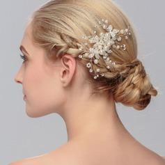 Charming Imitation Pearls Combs & Barrettes