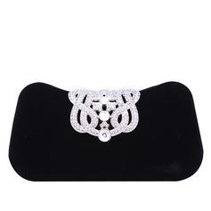 Elegant Tal / Strass/Flanellen Materiaal Koppelingen/Fashion Handbags