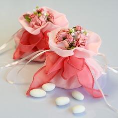 Schön Geschenktaschen mit Blumen/Bänder
