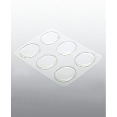 Transparent Gel Free Posting Anti-grinding Sticker