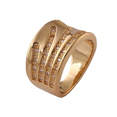 High Quality Copper/Zircon Ladies'/Men's Rings