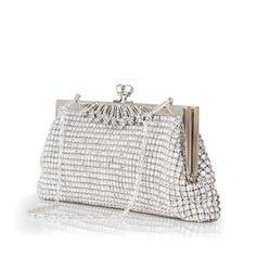 Charmen Kristall/Strass/Strass Grepp/Lyx Bag