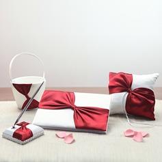 Klassisk stil Samling Set med Färgband/Skärpband