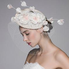 Beautiful Rhinestone/Lace/Tulle/Linen Fascinators/Hats