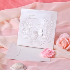Butterfly Style Tri-Fold Invitation Cards