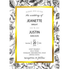 Enchanting Adoration Wedding Cards