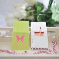 Personalized Butterfly Hard Card Paper Matchboxes