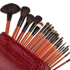 22 Pcs Top Makeup Brush Set With Alligator Purse