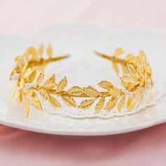 Leaves Shaped Alloy/Gold Plated Headbands