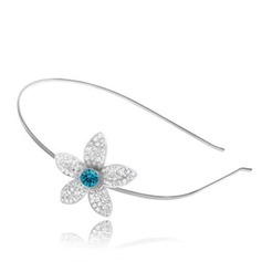 Elegant Alloy With Crystal Women's Hair Jewelry
