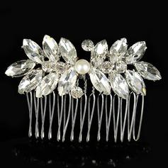 Beautiful Alloy/Imitation Pearls Combs & Barrettes