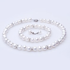 "Pretty Pearl/""A"" Level Pearl Ladies' Jewelry Sets (011054444)"