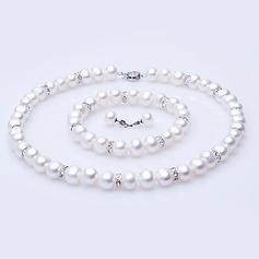 "Hübsche Perle/""A"" Niveau Perle Damen Schmuck Sets (011054444)"