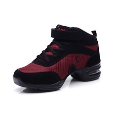 Women's Leatherette Sneakers Practice Dance Shoes