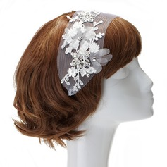 Elegant Lace/Net Headbands