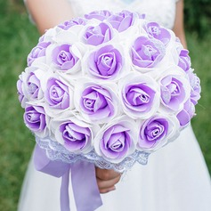 Round PE Bridal Bouquets