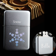 Personalized Snowflake Stainless Steel Lighter