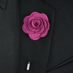 Klassisk stil koppar polyester Brosch