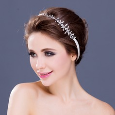 "Elegant ""A"" Level Rhinestone Headbands"