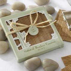 Elegant Bamboo Coaster
