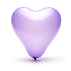 Lovely Heart Design Balloon  (More Colors)