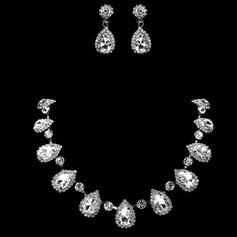 Gorgeous Alloy With Rhinestone Women's Jewelry Sets
