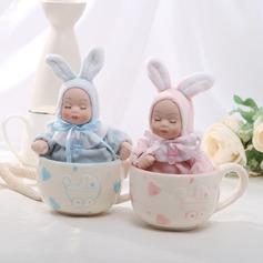 Cute Baby Ceramic/Resin Music Box