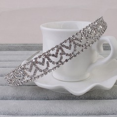 Glamourous Alloy Tiaras/Headbands (Sold in single piece)