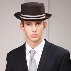 Men's Fashion Autumn/Winter Wool With Bowler/Cloche Hat