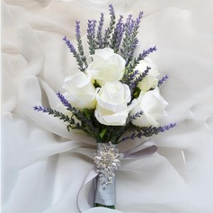 Fascinating Free-Form Artificial Silk Bridal Bouquets/Bridesmaid Bouquets -