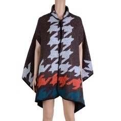 Ployester Acrylic Fashion Shawl