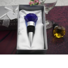 Diamond Shape Bottle Stoppers With Crystal