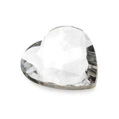 Hjerte Utforming Akryl Diamant Stykker