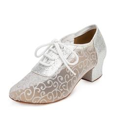 De mujer Tejido Sandalias Danza latina Zapatos de danza
