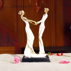 Classic Couple Ceramic Wedding Cake Topper