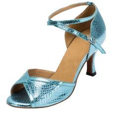 Women's Leatherette Heels Sandals Latin Dance Shoes