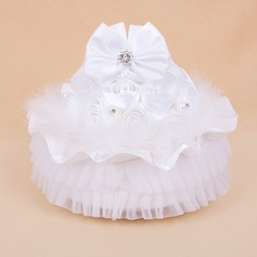 Beautiful Ring Box With White Feather/Music Box