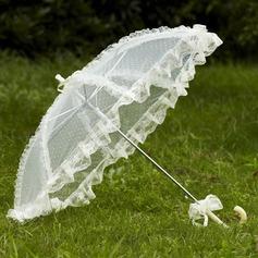 Brillante Encaje Parasoles de boda